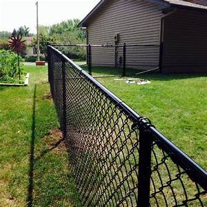 best 25 black chain link fence ideas on pinterest With chain link fence paint colors