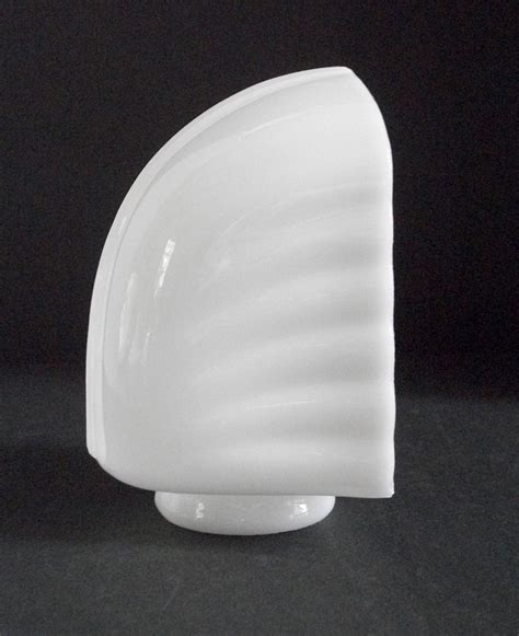 vintage milk glass bathroom light fixture replacement shade