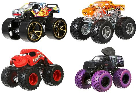 monster jam toys trucks wheels monster jam tour favorites team wheels