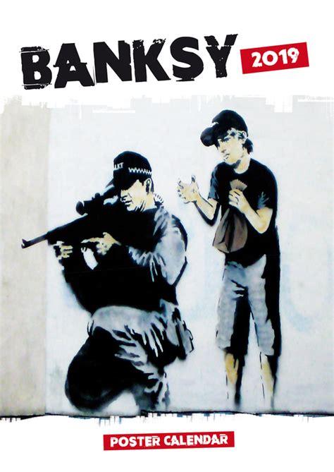 buy banksys poster wall calendar mighty ape australia