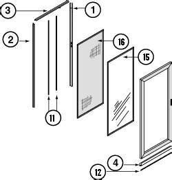 larson door parts security screen doors larson screen doors parts