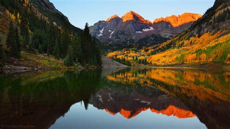 colorado gold maroon bells scenic area
