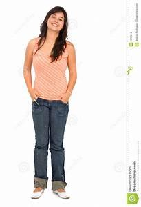 Casual Woman Standing | www.pixshark.com - Images ...