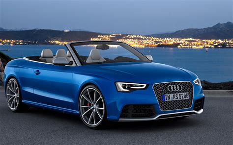 Blue Audi Wallpaper by Beautiful Blue Audi Car At Sunset Hd Auto Wallpaper