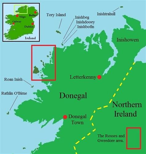 islands  donegal