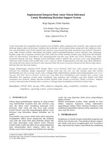 Pengukuran Investasi dan Efektifitas Teknologi Informasi