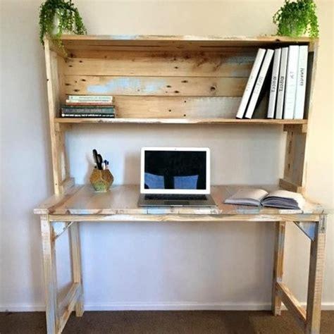 bureau palette bureau en palette modèles diy et tutoriel pour le