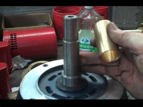 shaft sleeve removal installation close coupled motor mounted pump jm jp   tutorial youtube