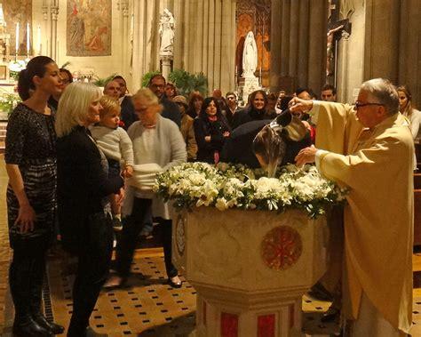 blessed sacrament easter vigil  york ny
