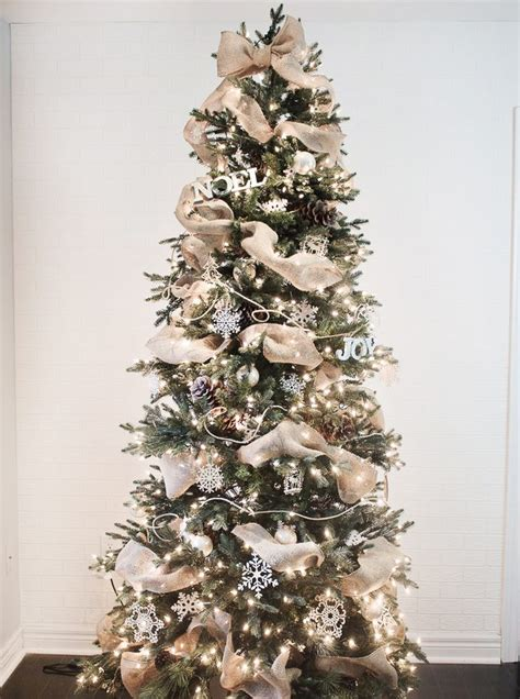 how to put ribbon garland on a christmas tree ehow