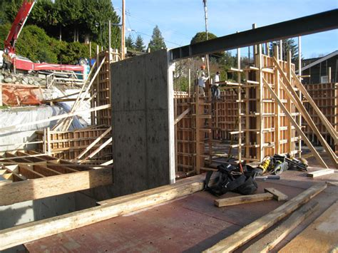 west van floor framing home building  vancouver