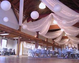 yushan39s blog 5 2 09 head table decor posted 1 year ago With ceiling lights for wedding reception