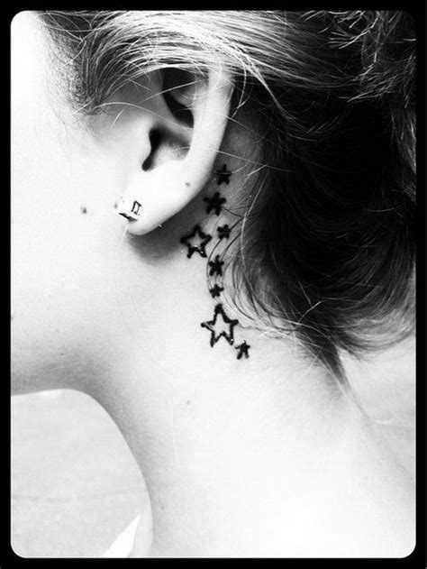 pretty   ear tattoos  creative juice