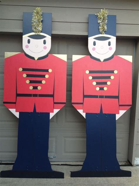 plywood christmas yard decoration patterns woodworking