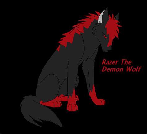 Razers Demon Wolf Form By Nero-chan95 On Deviantart