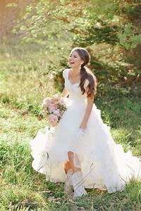 rebekah westover photography brooke henry utah wedding With wedding dress with boots