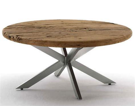Destiny Esstisch CANCUN Tisch rund 150 cm Bahnschwellen
