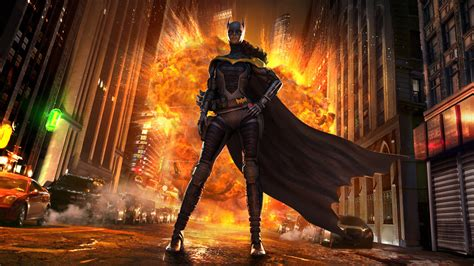 Injustice Gods Among Us  Batgirl By Atomhawk On Deviantart