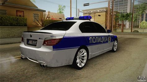 Mod Bmw S by Bmw M5 A E60 For Gta San Andreas