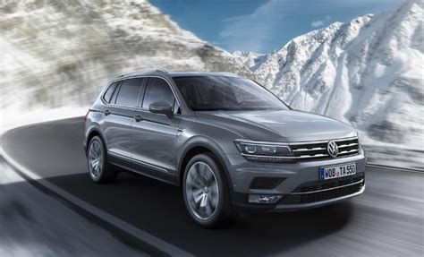 2020 Volkswagen Tiguan by 2020 Vw Tiguan Allspace Rumors Changes Interior Colors