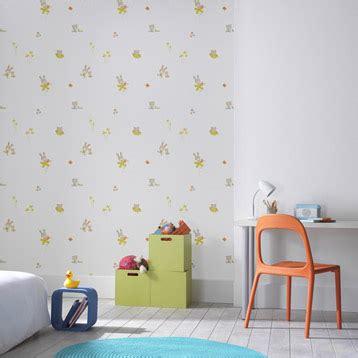chambre enfant papier peint papier peint chambre enfant leroy merlin