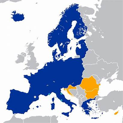 Schengen Area Wikipedia Map Wiki Svg