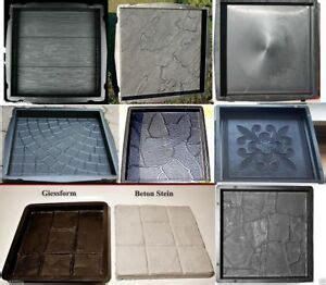 pflastersteine selber gießen schalungsformen giessformen betonformen zum steine selber giessen ebay