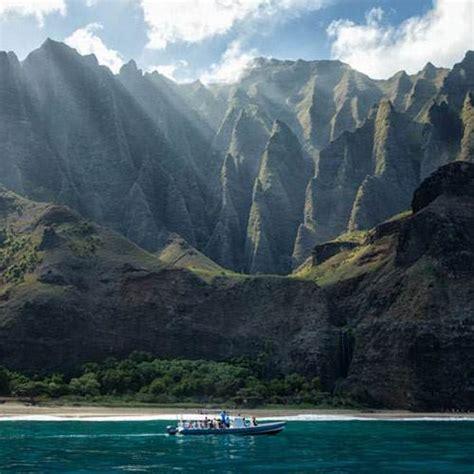 Napali Coast Hawaii Boat Tour by Napali Coast Raft Tour From Hanalei Kauai