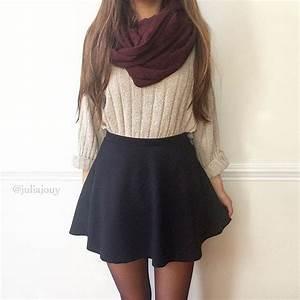 17 Best ideas about Skater Skirt Outfits on Pinterest | Cute skater skirts Black skater skirt ...