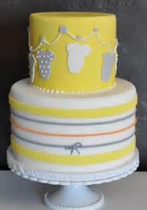 Yellow Gray Elephant Baby Shower by Baby Shower Cakes Evite