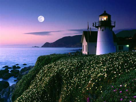 Beautiful Point Montara Lighthouse California