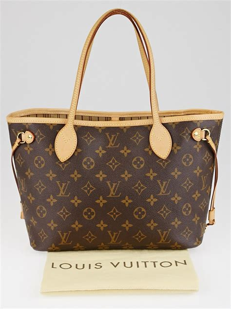 louis vuitton monogram canvas neverfull pm bag yoogis