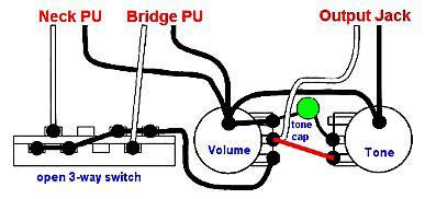 Fender Wiring Gibson Vintage Diagram Circuit by Fender Wiring Gibson Vintage Wiring Diagram Circuit