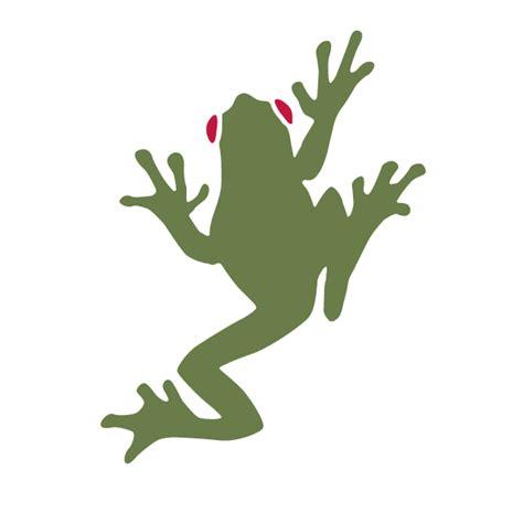tree frog stencil