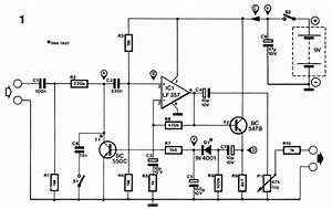 Audio Compressor Circuit Based Lf357  U00bb Circuitszone Com