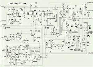 Philips 29pt656a  78r - 29pt856a  78r - 34pt786a  78r - Smps - Frame  U0026 Line Deflection