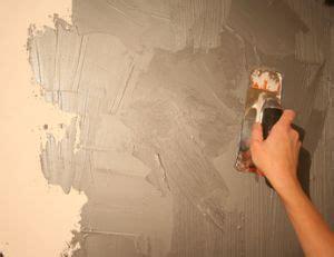 enduit décoratif intérieur enduire un mur int 233 rieur pratique fr