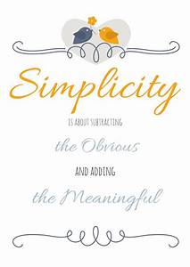 Free Simplifying Printable