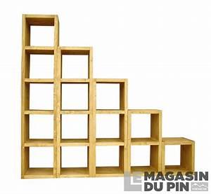 Cube De Rangement : cube de rangement 1 niche en pin massif chamonix le ~ Farleysfitness.com Idées de Décoration