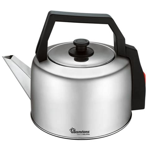 kettle electric ramtons traditional steel rm stainless capacity litres kettles liters appliances