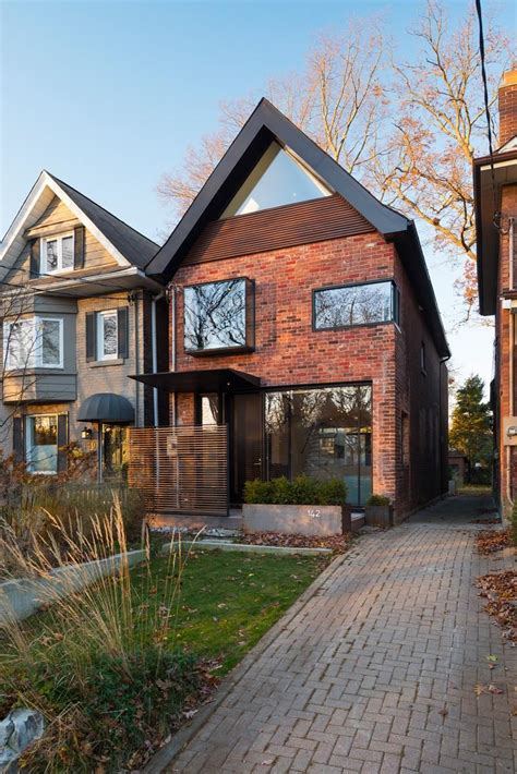 New Contemporary Redesign Of 1930s Brick House