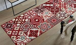Tapis Cuisine Carreaux De Ciment : tapis imitation carreaux de ciment groupon shopping ~ Dailycaller-alerts.com Idées de Décoration