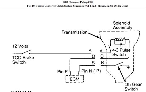 Chevy 700r4 Transmission Wiring Diagram by 1994 Chevy 1500 4wd W 4l60e Would Like To In