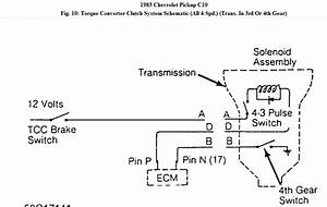 700r4 Transmission Speed Sensor Wiring Diagram