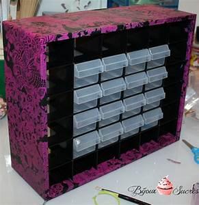 Belle Boite De Rangement : diy customiser une boite de rangement avec d copatch bijoux sucr s ~ Farleysfitness.com Idées de Décoration