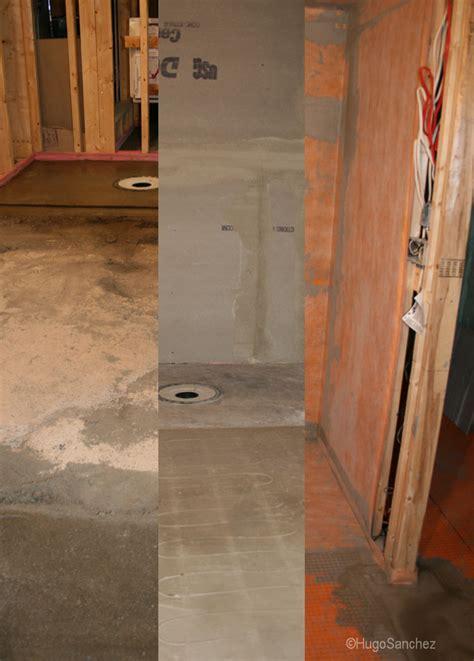 basement curbless shower c 233 ramiques hugo inc