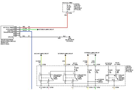 2006 F150 Trailer Wiring Diagram by I A 2005 F150 Xl With Factory Tow Package The