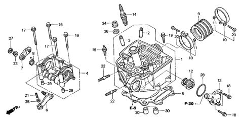 2004 honda trx450r parts diagram downloaddescargar