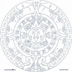 Aztec Sun Calendar Coloring Pages - Sun Coloring Pages 8 ...
