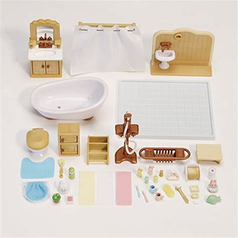 calico critters deluxe bathroom set home garden accessories accessory sets